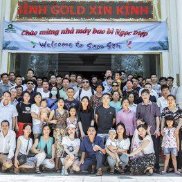 Tập đoàn Ngọc Diệp tổ chức du lịch đợt 1 cho khối Nhà máy Bao bì Ngọc Diệp