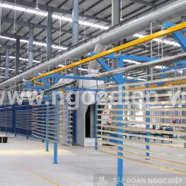 Ngọc Diệp cung cấp nội thất cho trường THPT chuyên Lương Văn Tụy