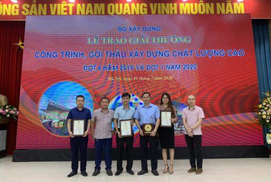 Nội thất Ngọc Diệp đạt giải thưởng về Công trình Chất lượng cao do Bộ Xây dựng trao tặng
