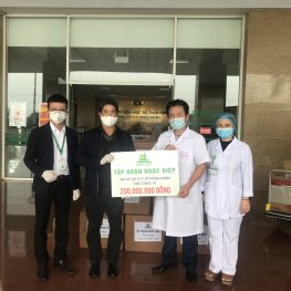 Ngoc Diep Group accompanies with the government to prevent the COVID-19 epidemic