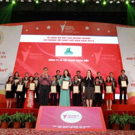 Ngoc Diep Group has become one of the Top 500 Most Profitable Companies in Vietnam in 2018