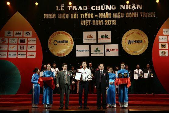 NGOCDIEPWINDOW lọt vào top 50 nhãn hiệu nổi tiếng Việt Nam 2018