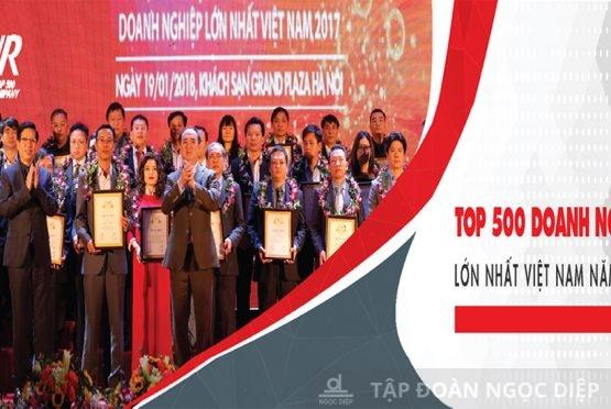 Ngọc Diệp tiếp tục nằm trong Top 500 Doanh nghiệp tư nhân lớn nhất Việt Nam năm 2018