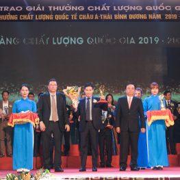 Bao Bì Ngọc Diệp đạt giải vàng Chất lượng Quốc gia 2021