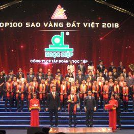 Giải thưởng Sao vàng đất Việt 2018