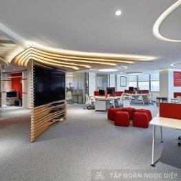 Xu hướng thiết kế nội thất văn phòng cuối năm 2021